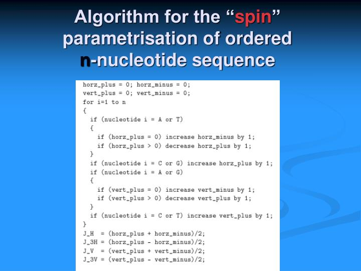 """Algorithm for the """""""