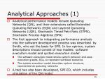 analytical approaches 1