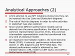 analytical approaches 2
