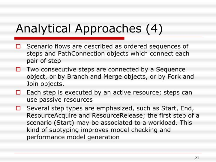 Analytical Approaches (4)