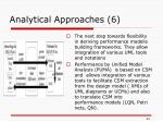 analytical approaches 6