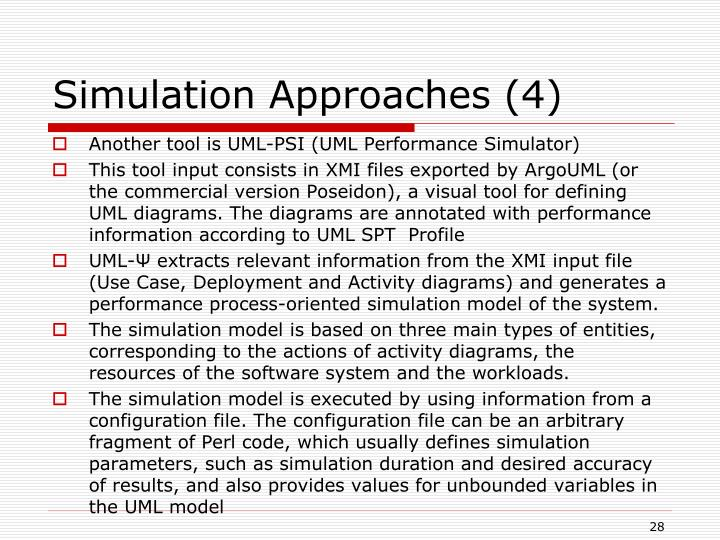 Simulation Approaches (4)