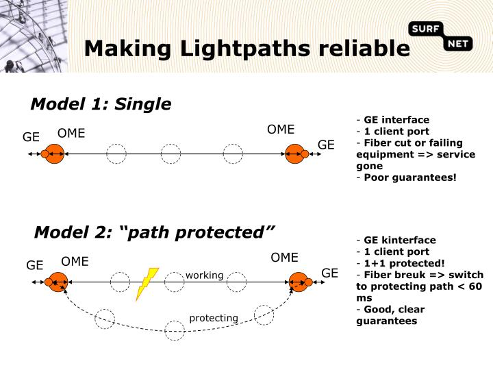 """Model 2: """"path protected"""""""