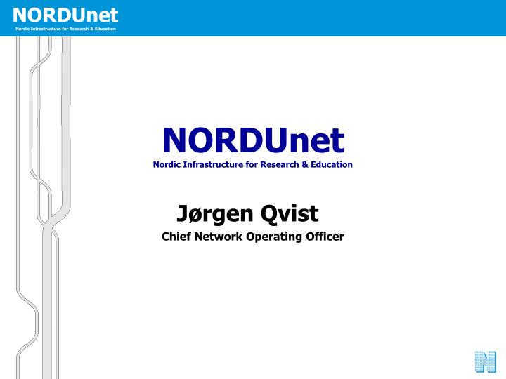 J rgen qvist chief network operating officer