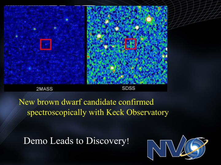 Demo Leads to Discovery