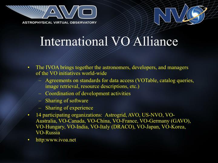 International VO Alliance