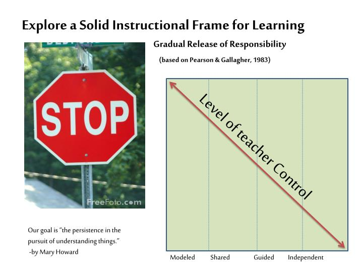 Explore a Solid Instructional Frame for Learning