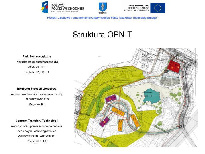 Struktura OPN-T