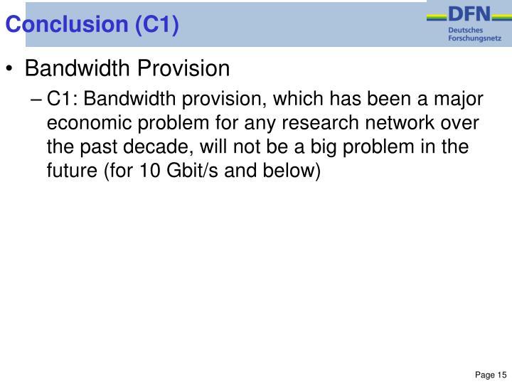 Conclusion (C1)