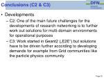 conclusions c2 c3