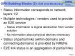 opn building blocks 3 e2e link monitoring