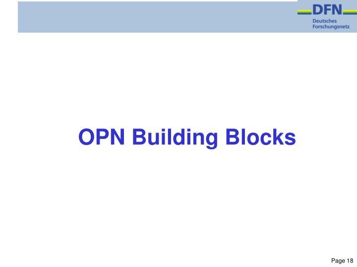 OPN Building Blocks
