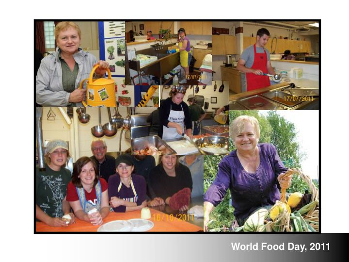 World Food Day, 2011