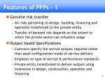 features of ppps 1