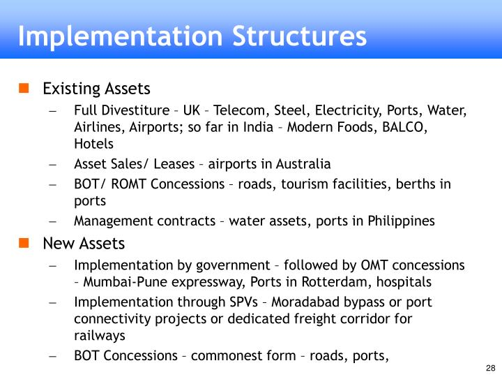 Implementation Structures