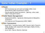 some indian examples 1