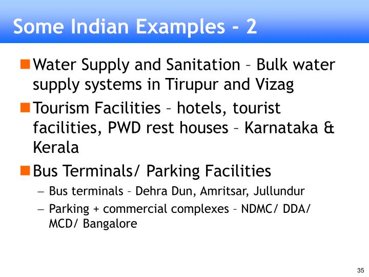 Some Indian Examples - 2