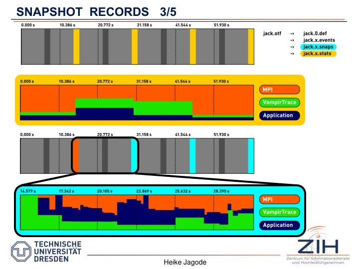 SNAPSHOT  RECORDS3/5