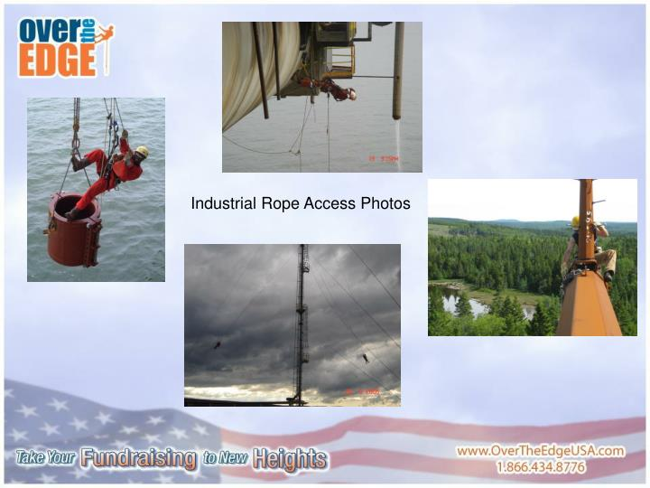 Industrial Rope Access Photos