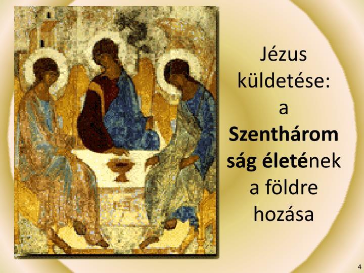 Jézus küldetése: