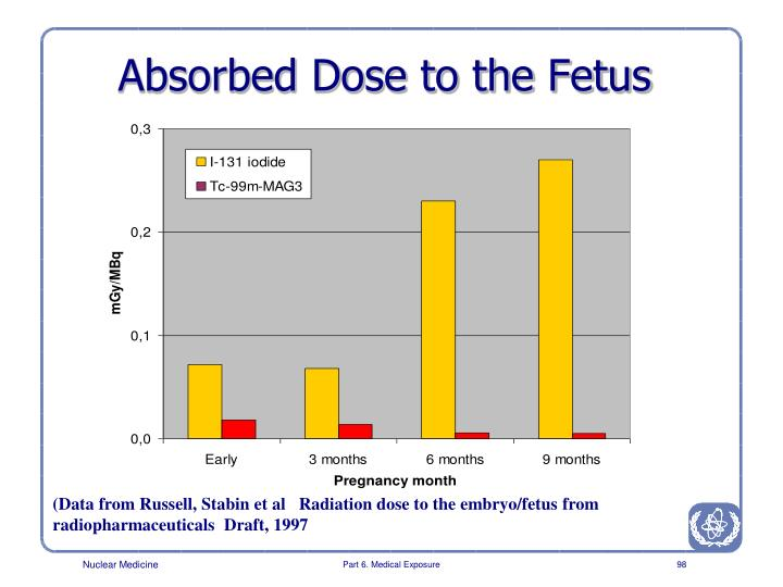 Absorbed Dose to the Fetus