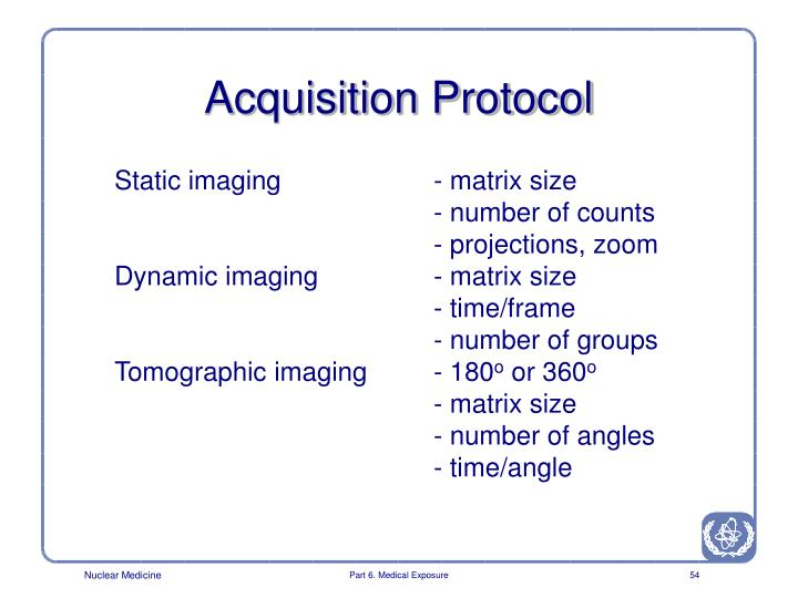 Acquisition Protocol