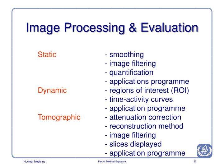 Image Processing & Evaluation