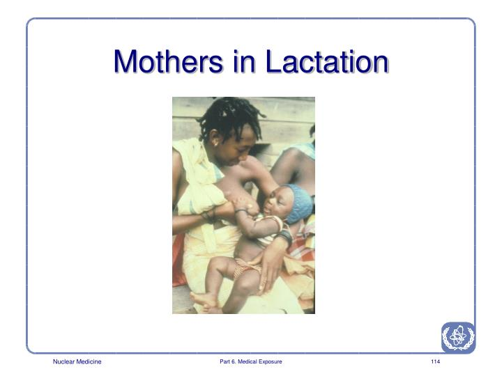 Mothers in Lactation