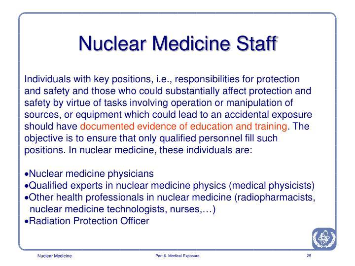 Nuclear Medicine Staff