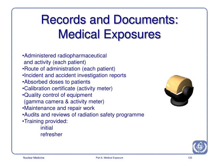 Records and Documents: