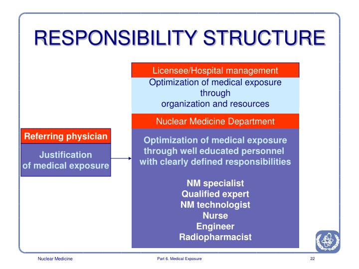 RESPONSIBILITY STRUCTURE