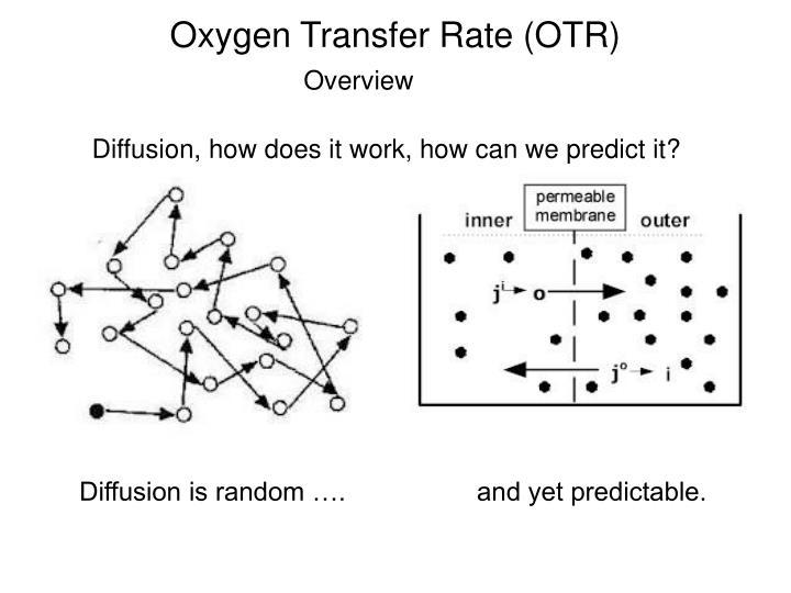 Oxygen Transfer Rate (OTR)