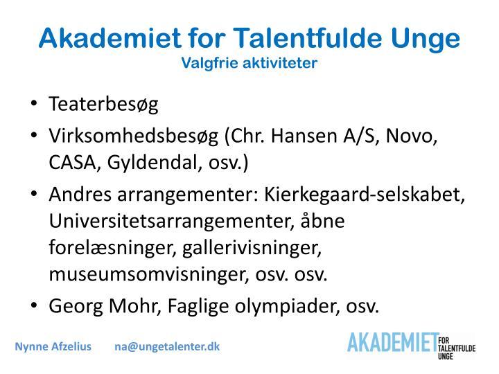 Akademiet for Talentfulde Unge