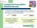 compound prescription reimbursement1