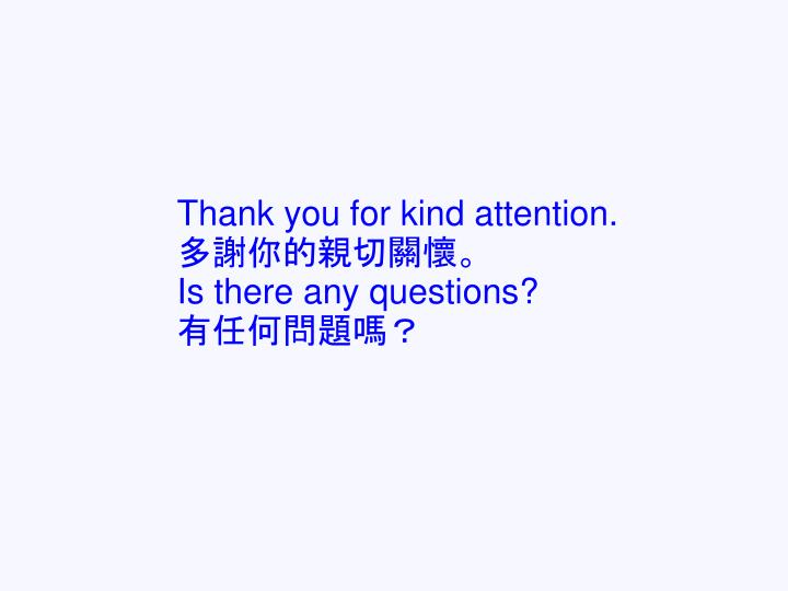 Thank you for kind attention.