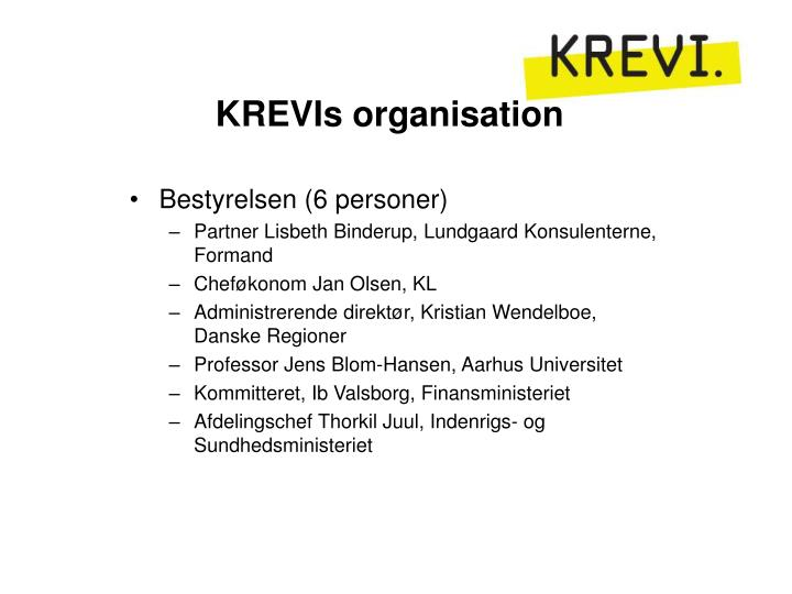 KREVIs organisation