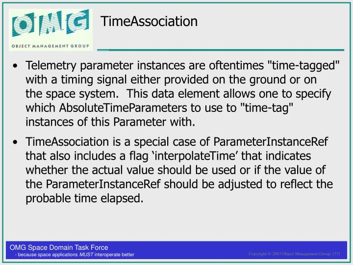 TimeAssociation