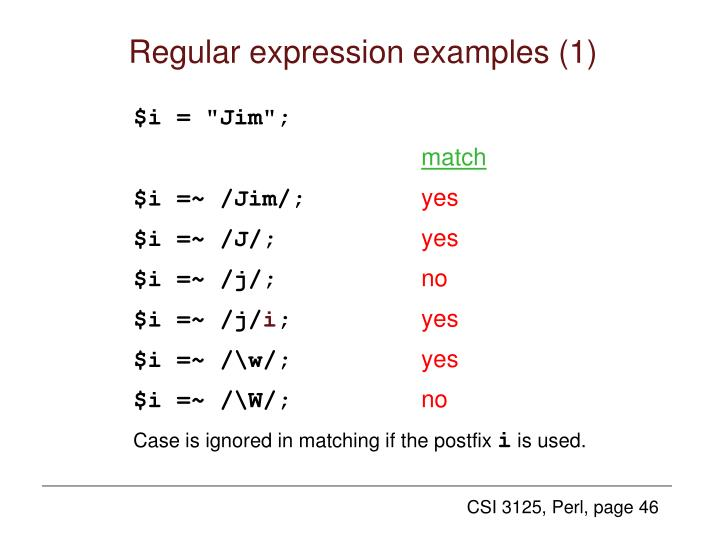 Regular expression examples (1)