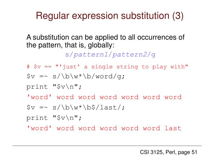 Regular expression substitution (3)