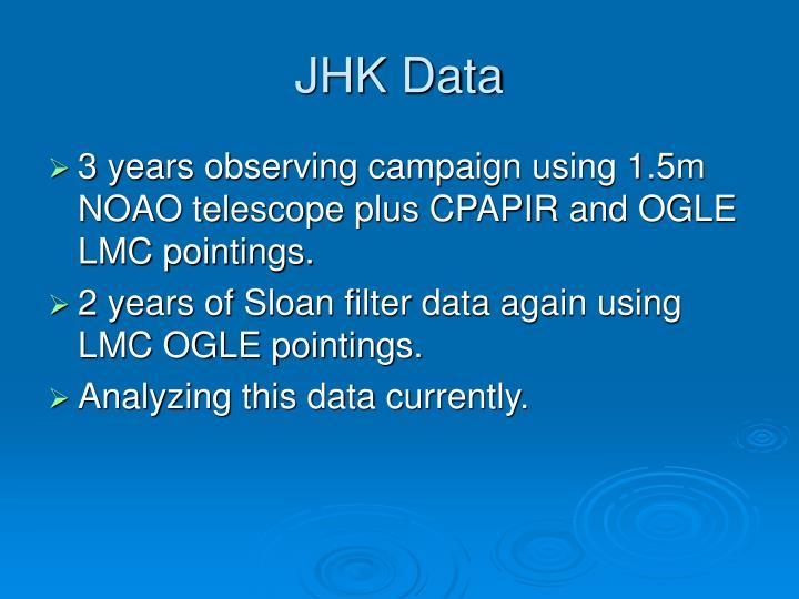 JHK Data
