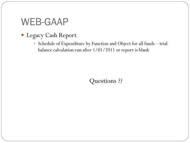 WEB-GAAP