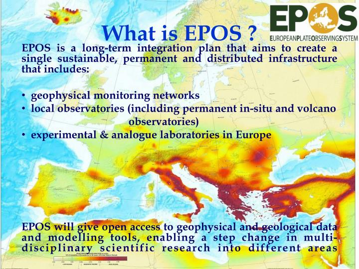 What is EPOS ?