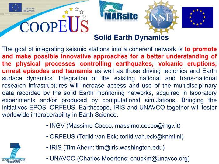 Solid Earth Dynamics