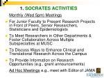1 socrates activities
