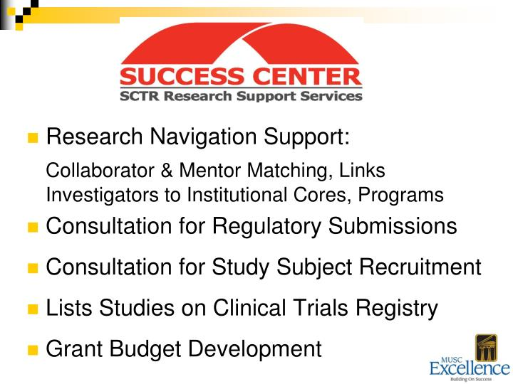 Research Navigation Support: