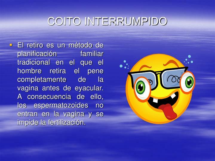 COITO INTERRUMPIDO