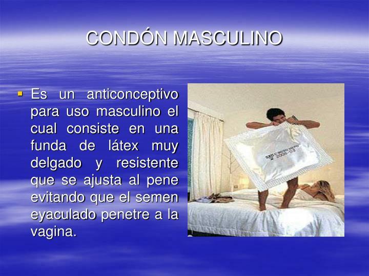 CONDÓN MASCULINO