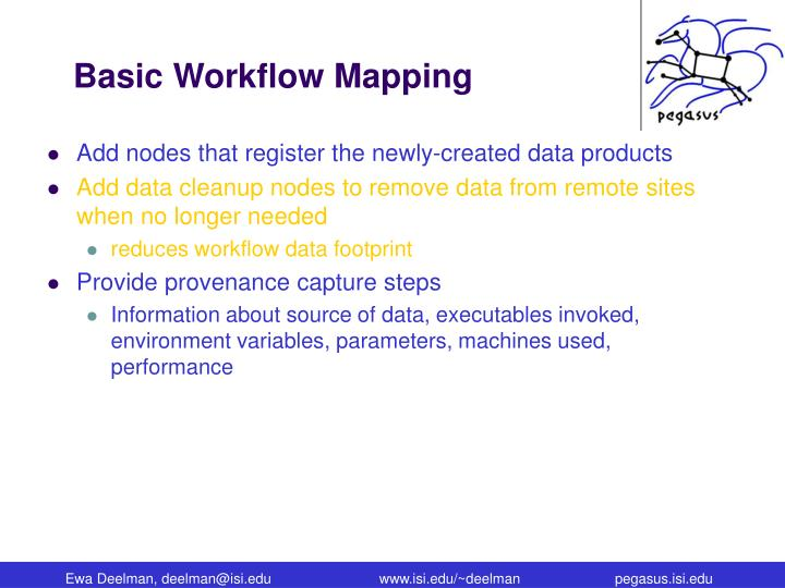 Basic Workflow Mapping