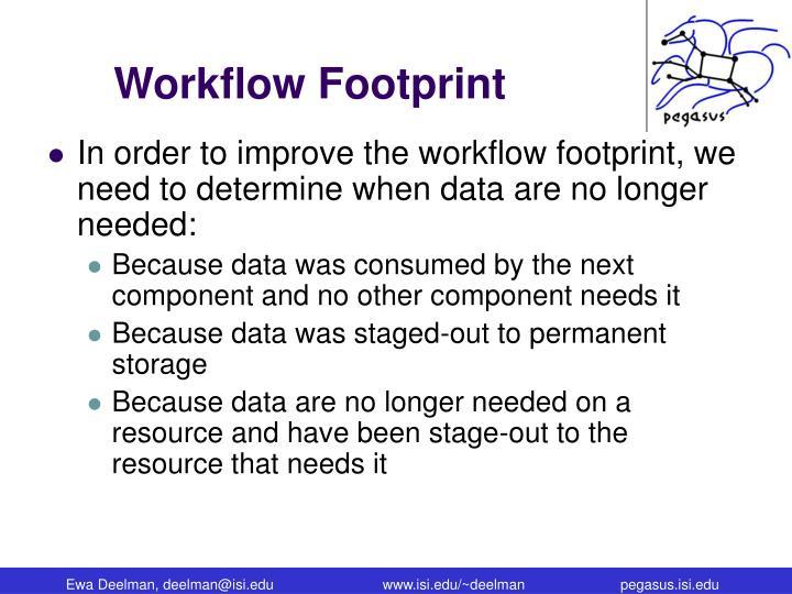 Workflow Footprint