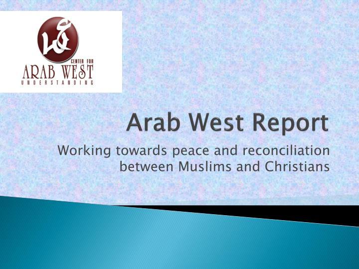 Arab West Report
